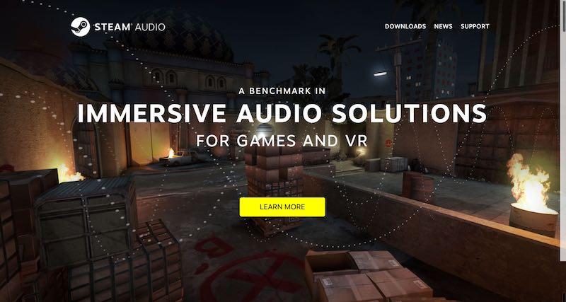 Steam Audio: efectos sonoros realmente impresionantes en tus desarrollos.
