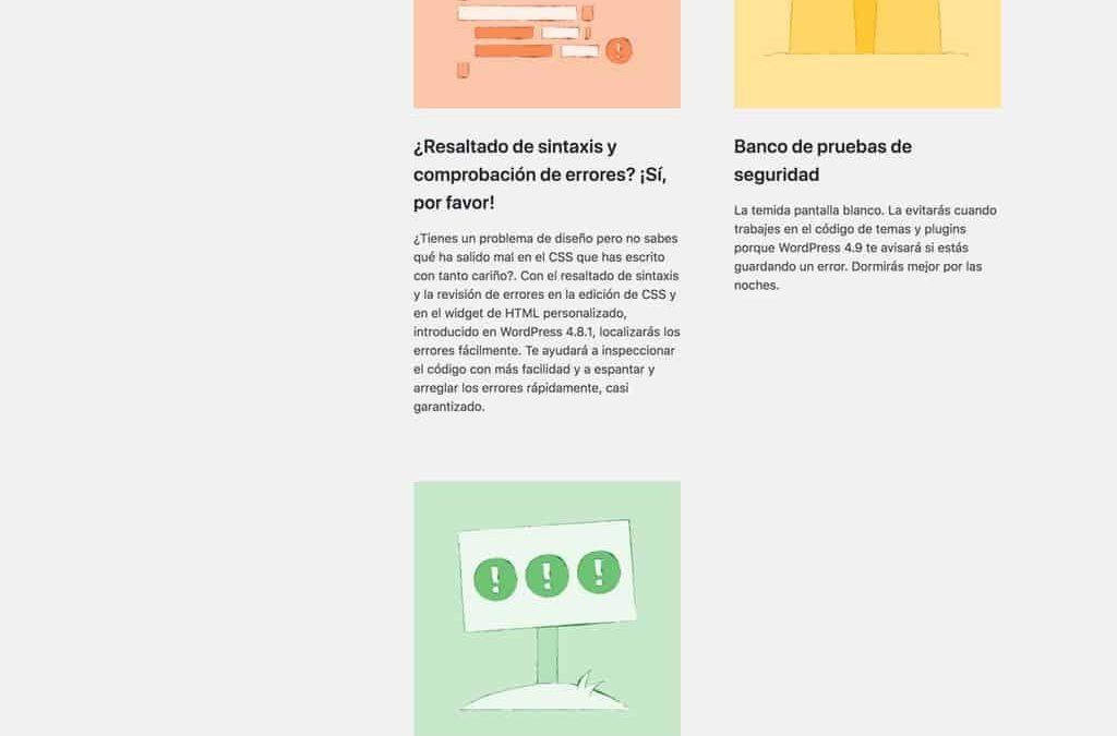 WordPress 4.9.3, una nueva actualización de mantenimiento